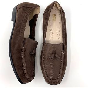SAS the Hope Slip on Loafer Brown Size 9M